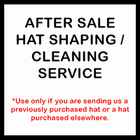 After Sale Felt Hat Shaping / Cleaning Service