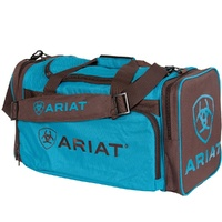 Junior Gear Bag, Turquoise/Brown