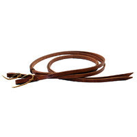 "Reins Harness Leather 5/8"" x 7'"