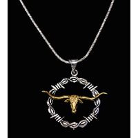 Necklace Longhorn / Rope