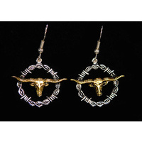 Earrings Longhorn / Rope