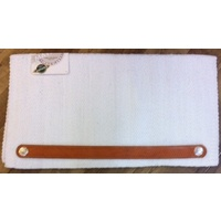 Saddle Blanket Leather (basket stamped)