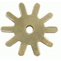 10 Point Brass Spur Rowels