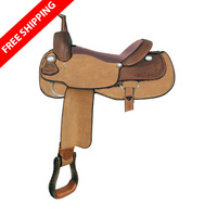 Red River Cutter Saddle
