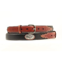 Kids Steerhead Concho Belt