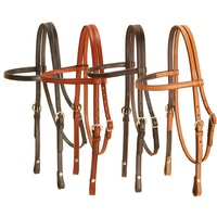 "Browband 5/8"" Leather Bridle"