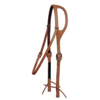 One Ear Herman Oak Leather Bridle w/Throatlatch