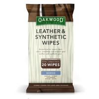 Leather & Synthetic Wipes (20 pack)