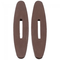 Rubber Rein Stops, Brown