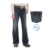Girls Retro Boot Cut Jean