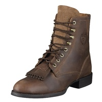 Womens Heritage Lacer II, Distressed Brown