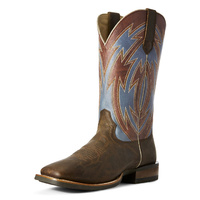 Mens Crossdraw, Ox Blood / Blue Fireball