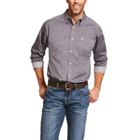 Mens Wrinkle Free Pinpoint Shirt