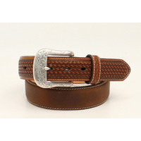 Ariat Mens Basket Belt