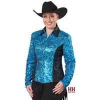 Rita Show Jacket, Turquoise