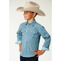 Boys Amarillo Blue Shirt