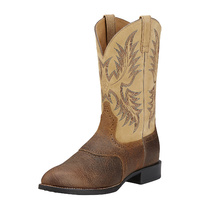 Mens Heritage Stockman, Tumbled Brown