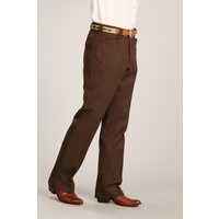 Dress Ranch Pants, Brown