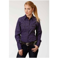 Womens Amarillo Winter Plum Shirt