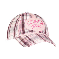 Youth Country Gal Plaid Cap