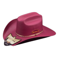 Adult Cheyenne Dark Pink Hat