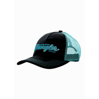Mens Logo Trucker Cap, Black
