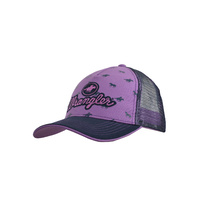 Girls Rachelle Cap, Purple