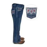 Girls Belle Boot Cut Jean