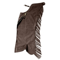 Youth Ultrasuede Chaps, Chocolate