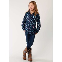 Girls Five Star Cactus Print Shirt