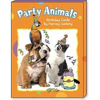 Greeted Mini Assortment - Party Animals