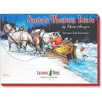 Christmas Cards DB - Santa's Western Route