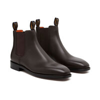Horseman Dress Boots, Brown