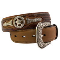 Mens Star Belt