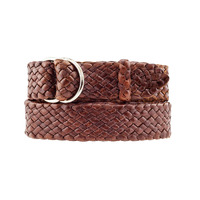 Kangaroo Plaited Belt - Queenslander