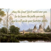 Magnet - May the Great Spirit watch over you...