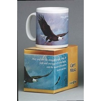 Mug - May you have the strength of eagles...