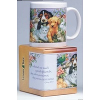 Mug - Animals are such agreeable friends...