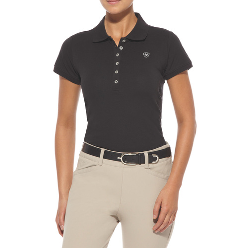 Womens Prix Polo, Black L